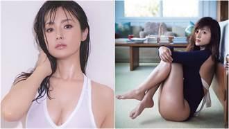 深田恭子白背心「濕身秀豪乳」火辣曲線全看光