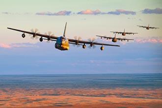 美國MC-130特戰機 5日穿過台海