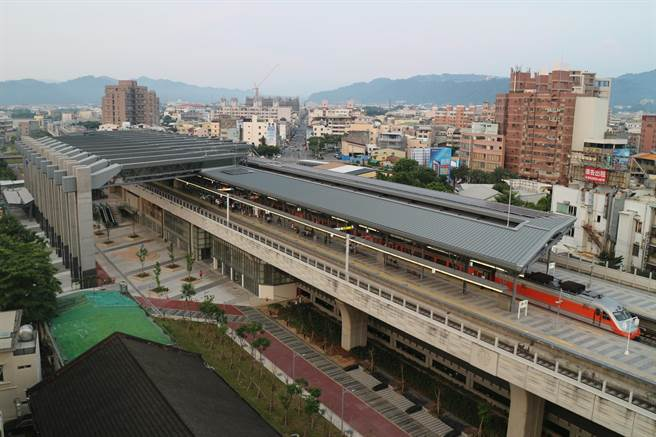 交通部鐵道局建置「智慧型影像監控系統工程」,選在台鐵豐原站試辦。(鐵道局提供/陳祐誠傳真)