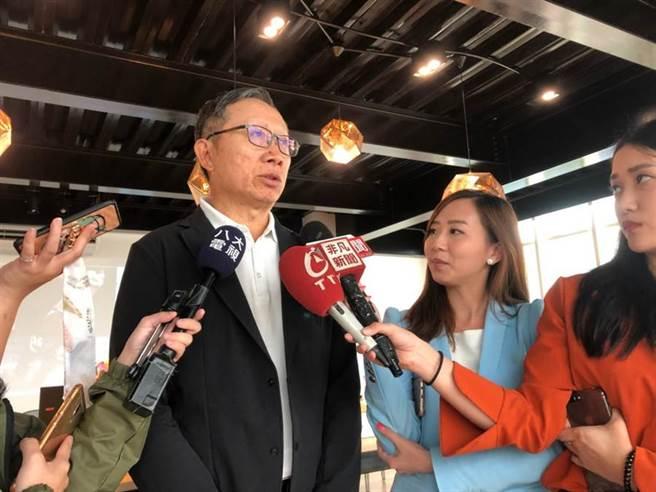 大田製鞋執行董事陳丙材受訪。