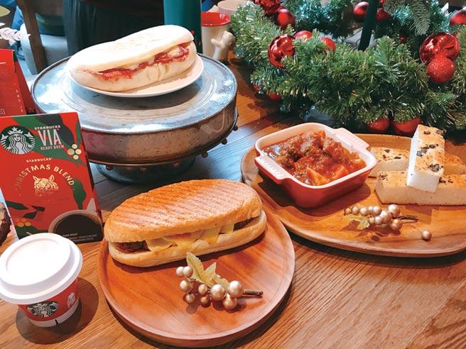 星巴克5日宣布攜手台灣牛排教父、米其林星級主廚鄧有癸師傅,推出三款「星想餐名廚系列」餐點,11月6日全台上市。圖/劉馥瑜