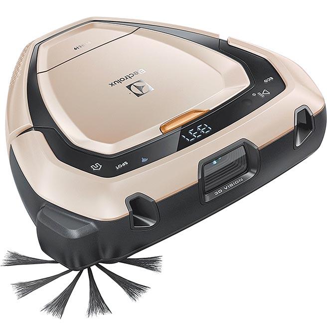 全國電子的伊萊克斯Pure i9掃地機器人(出清品),原價3萬2900元,特價1萬9900元,12日前限量50台,買就送伊萊克斯吸塵器。(全國電子提供)