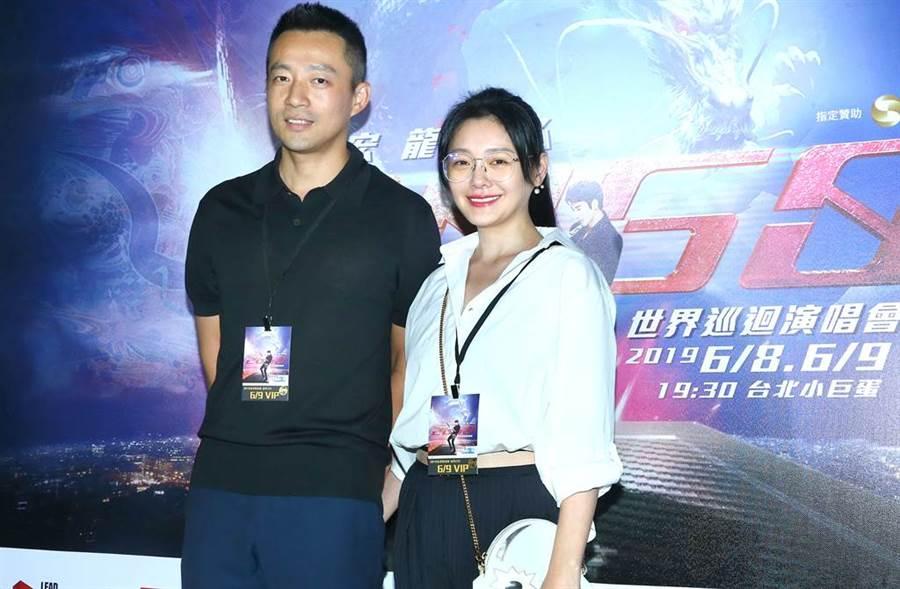 大S和汪小菲結婚9年,感情依舊幸福。(圖/本報系資料照)