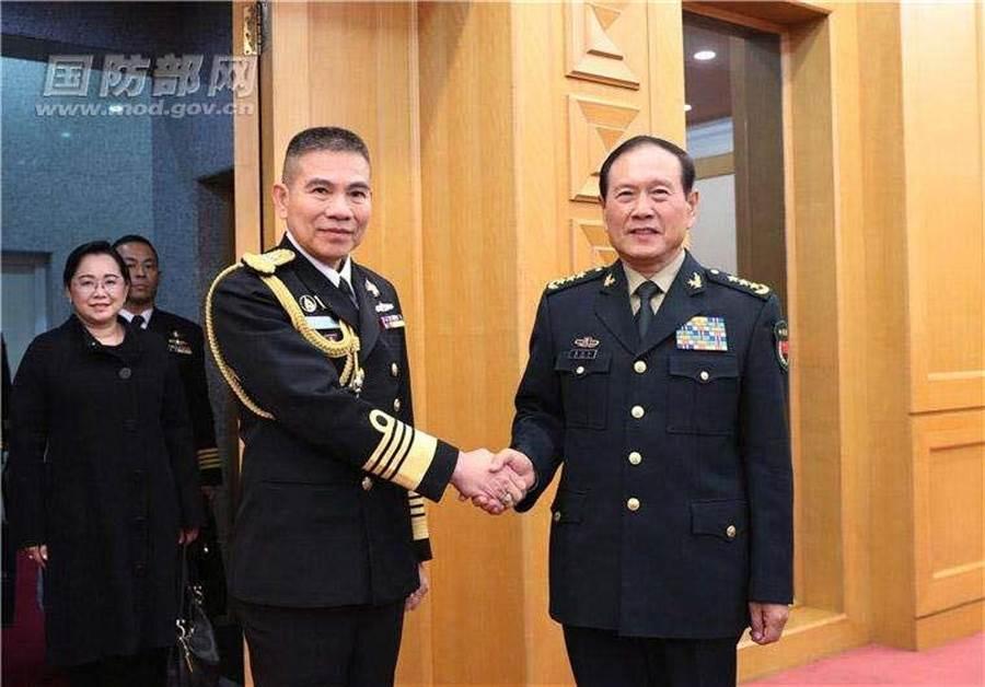 圖/中國國防部