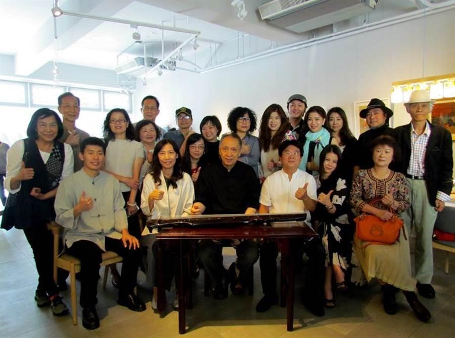 (台灣藝術家將組團參加「2019年新加坡國際文化藝術論壇及國際藝術交流展」。圖/曾麗芳)