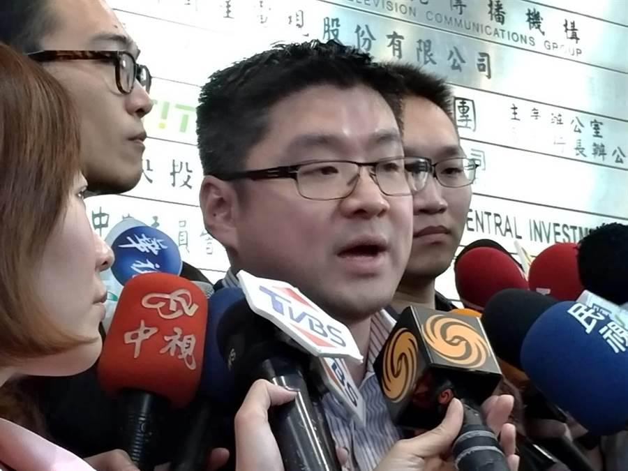 國民黨中常委、台北市議員徐弘庭。(黃福其攝)