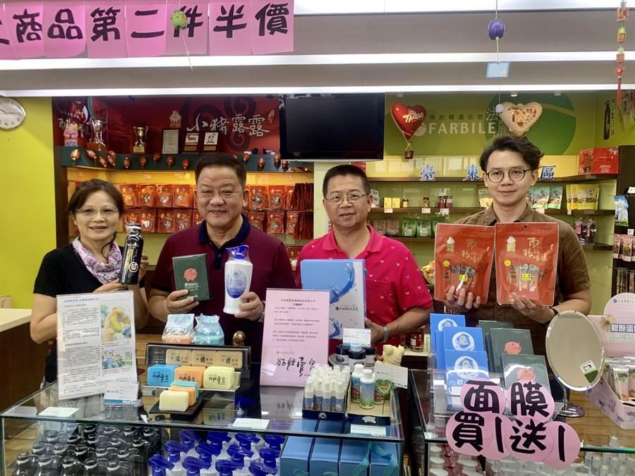 南投縣農產運銷公司36周年慶,推出惠專案。(廖志晃攝)