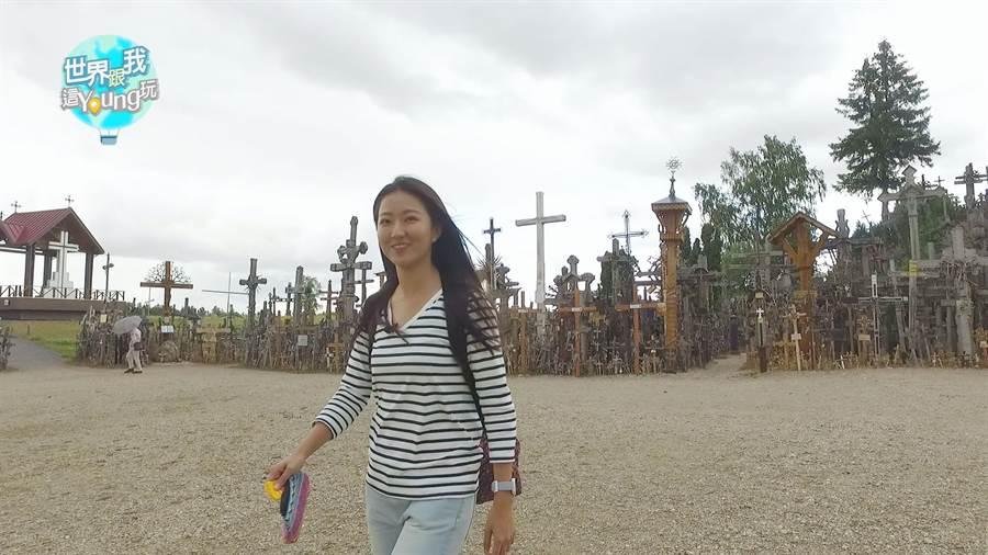 「十字架山」是立陶宛相當著名的景點。(圖/亞洲旅遊台提供)