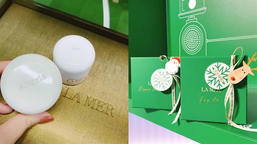 凡在現場購買海洋拉娜產品組合,便提供海洋拉娜刻字和精美包裝服務。(圖/邱映慈攝影)