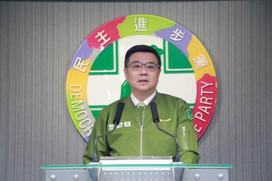 民進黨主席卓榮泰(民進黨提供)