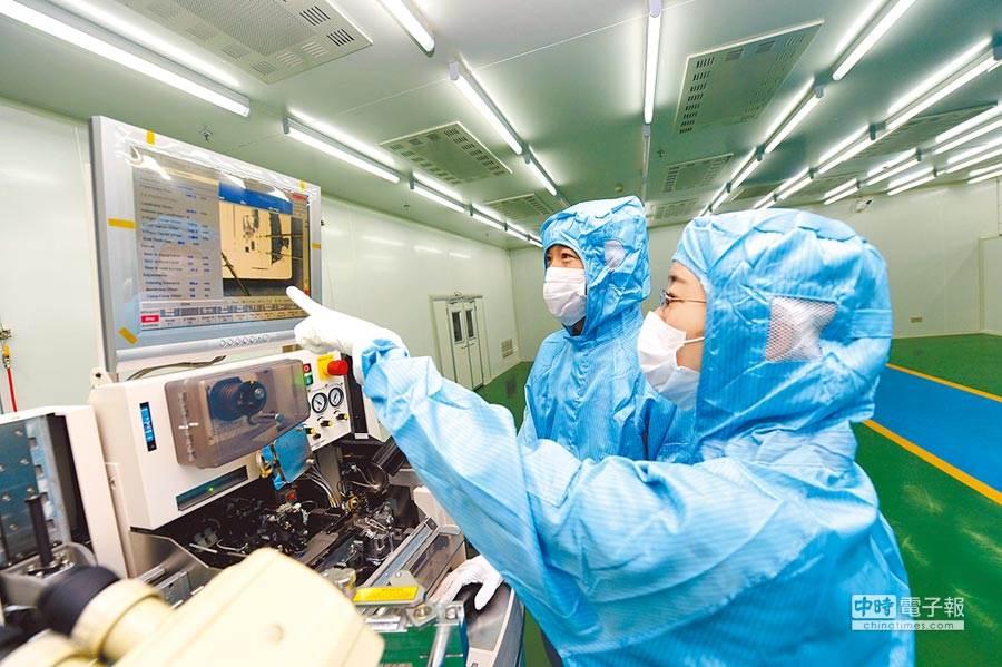 全球五大晶片製造商年度資本支出有望創歷史新高。(圖/新華社)