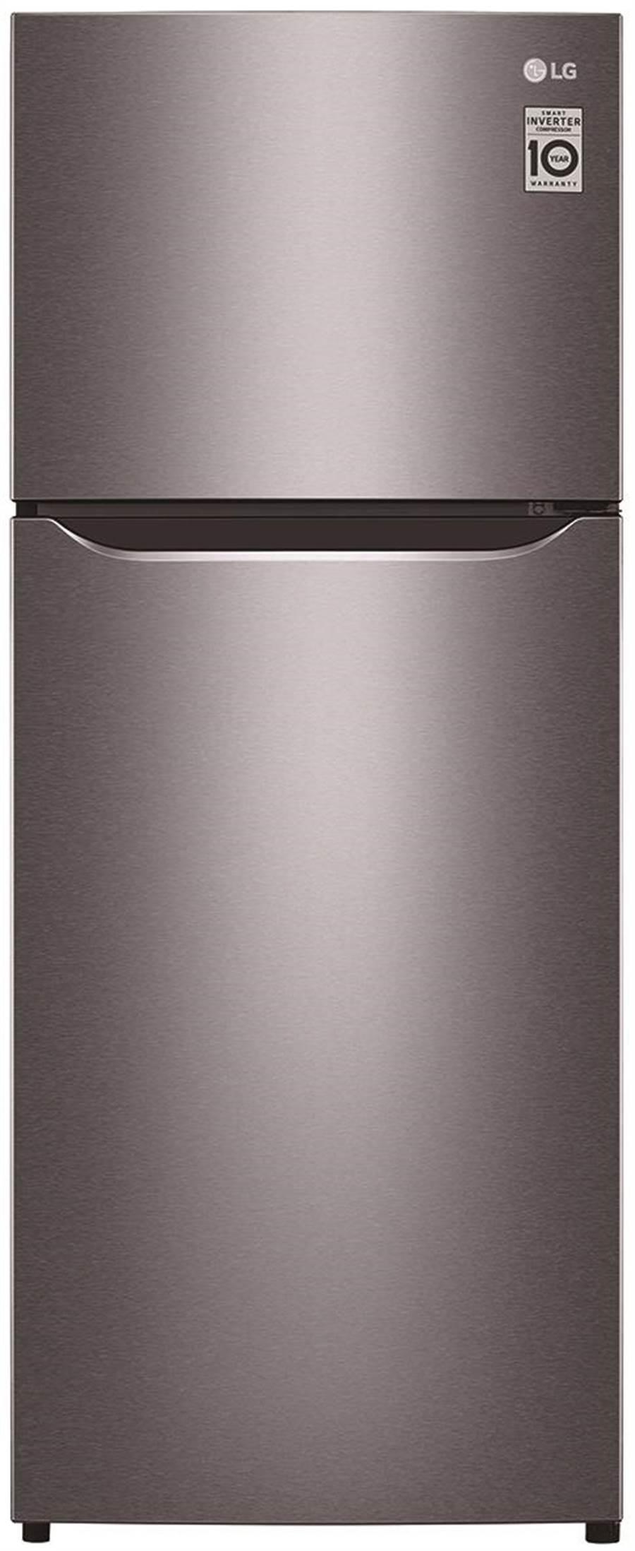 全國電子的LG 186L雙門變頻冰箱銀,原價1萬3900元,特價1萬2510元,加贈全國電子獨家好禮,7日前限量100台。(全國電子提供)