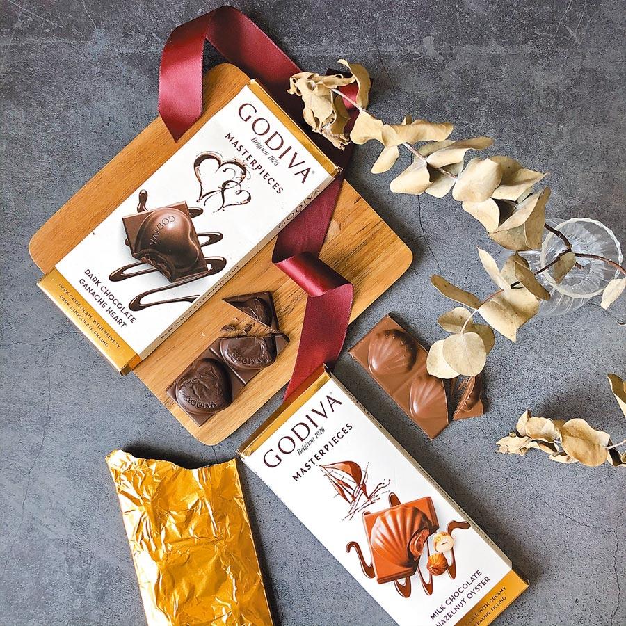 7-11獨家GODIVA冬季巧克力新品,159元起。(7-11提供)