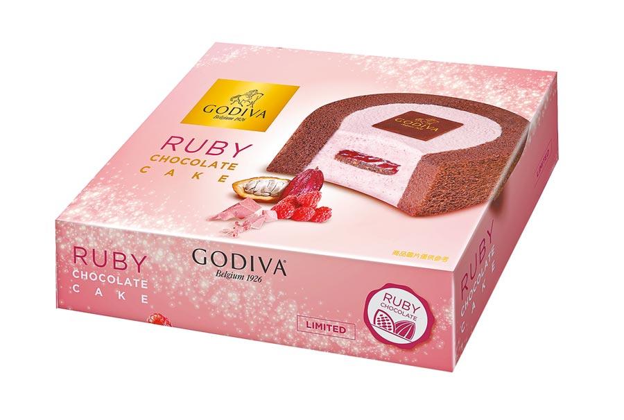 7-11獨家預購紅寶石巧克力慕斯蛋糕,159元。(7-11提供)