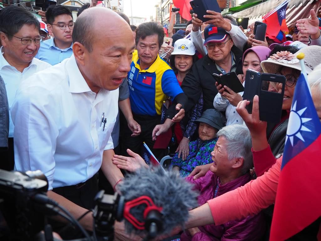 國民黨總統參選人韓國瑜(圖/本報系資料照)