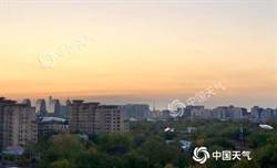 北京氣溫下跌 夜間最低氣溫僅1℃