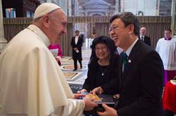 副總統陳建仁面邀訪台 教宗笑而未答