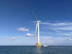 陸研發海上風電機組 單機年發電4千萬度