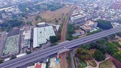 嘉義市博愛陸橋二度改建 施工期11個月縮減車道