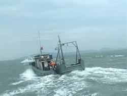 馬祖海巡出擊大掃蕩 查獲越界陸船