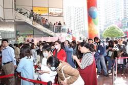 中壢SOGO周年慶 首日開出2.7億紅盤