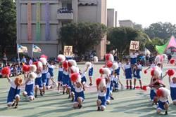 南光高中啦啦隊競賽 老師為奪名也豁出去