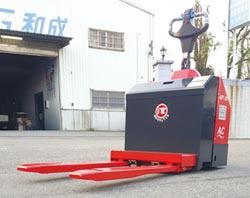 恆智重機 新研發懸浮型貨叉電動拖板車