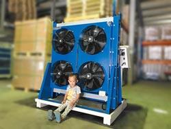庫林無水-冷卻方案 油壓機良伴