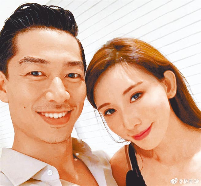 粉絲影迷們都很期待Akira(左)跟林志玲的世紀婚禮。(摘自微博)