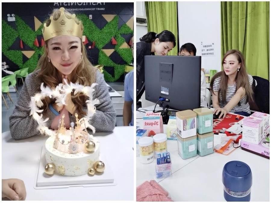 陳希愛在深圳經營網路購物平台。陳希愛提供