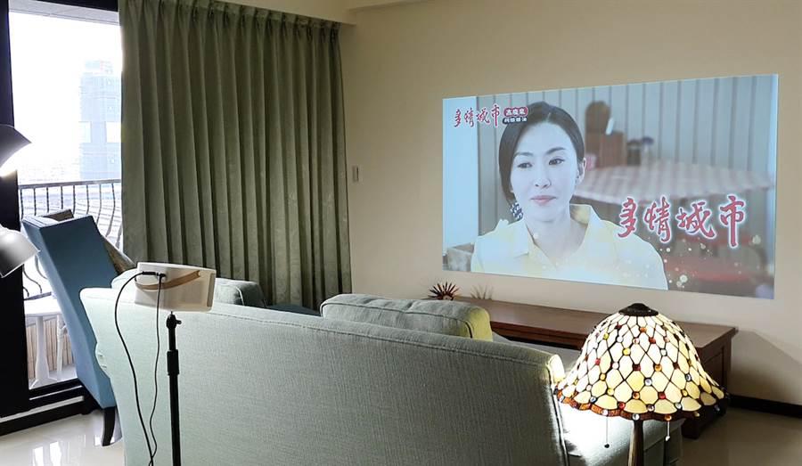 OVO 無框電視K1。(OVO提供/黃慧雯台北傳真)