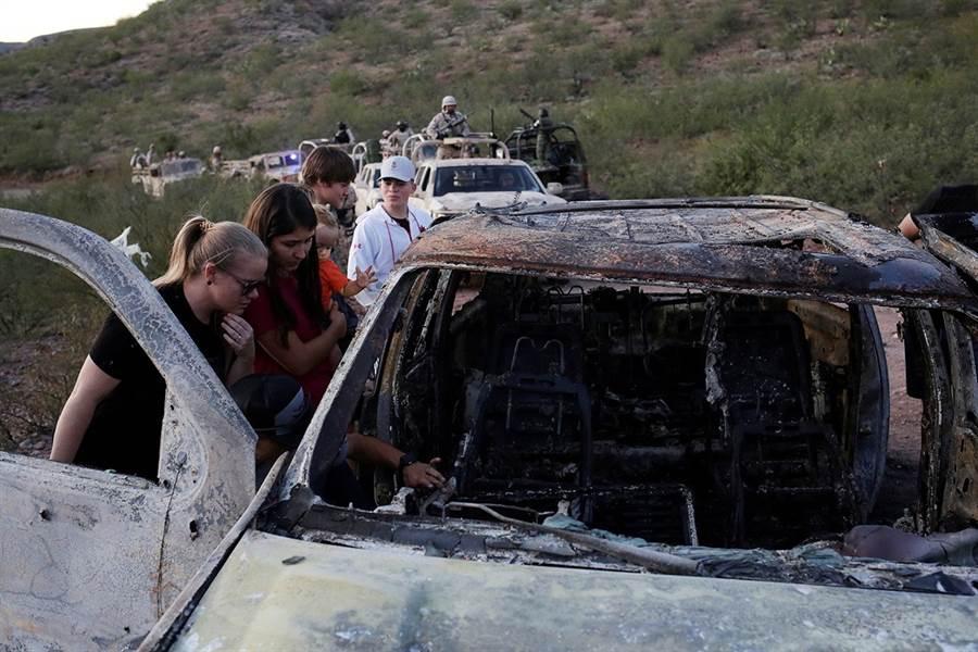 美國摩門教家庭在墨西哥北部遇襲,警方初步判定和當地黑幫地盤之爭有關。(圖/路透社)