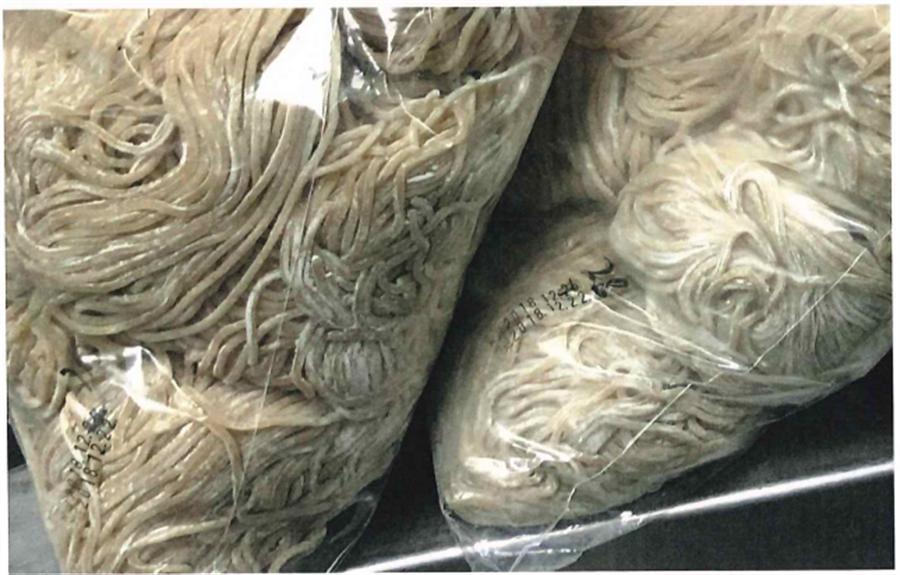 知名牛肉麵店段純貞被查出使用過期麵條,檢方起訴涉案員工3人。(台中地檢署提供/林欣儀台中傳真)