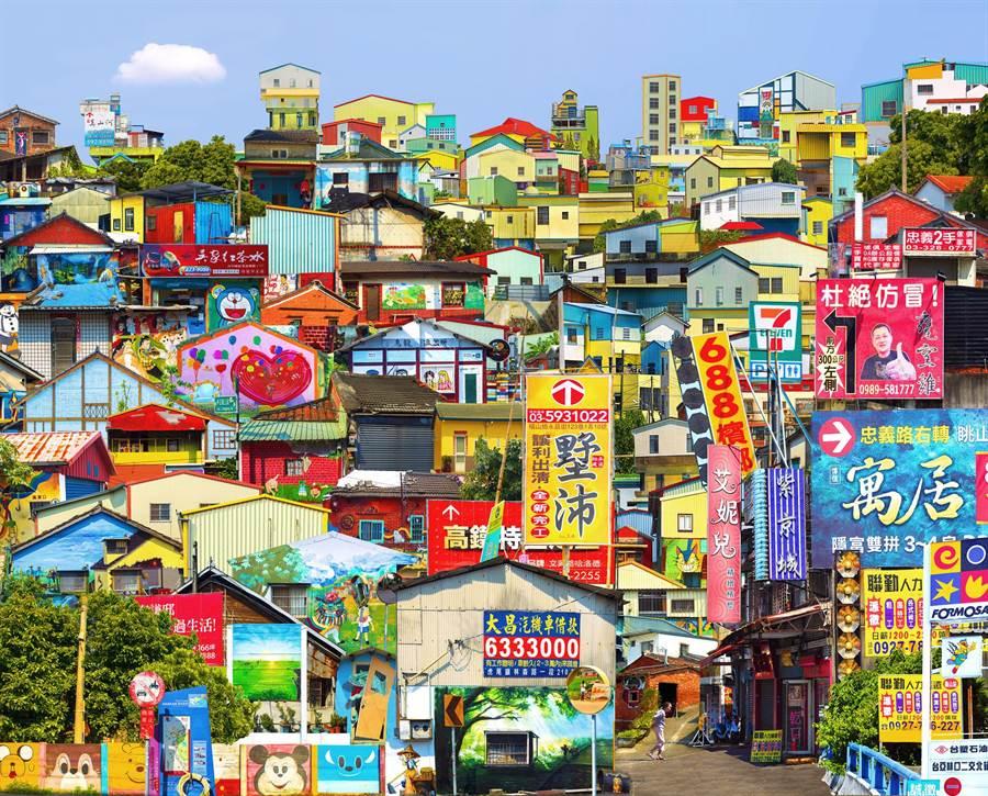 黃元煜以數位攝影作品《印象拼貼-美麗家園》奪下2019屏東獎。(屏縣府文化處提供/林和生屏東傳真)