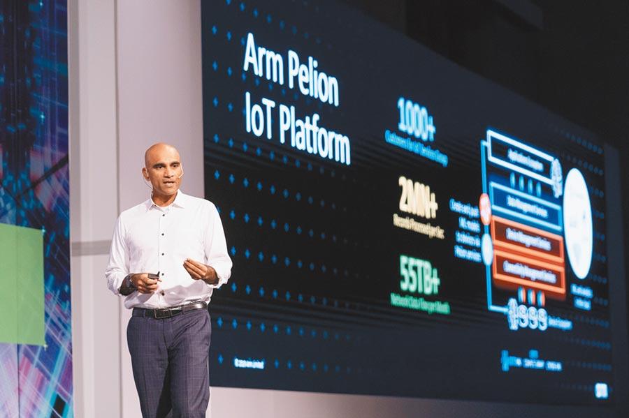Arm資深副總裁Hima Mukkamala指出,5G技術逐漸成熟,將為物聯網、AI和ML等創新應用帶來另一波商轉契機。圖/業者提供