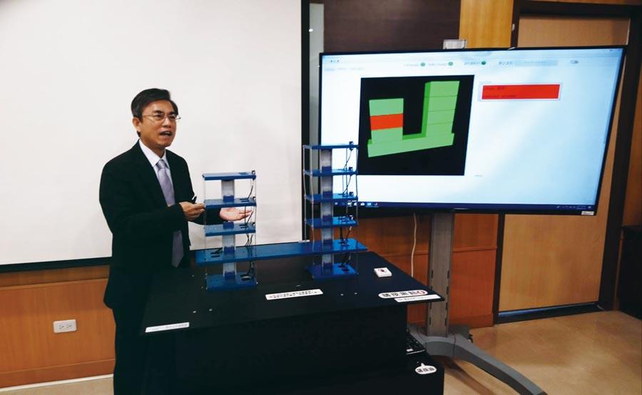 中科管理局長許茂新表示,今年率先建置科學園區第一套「智慧防減災系統」,為園區廠商把關。圖/曾麗芳