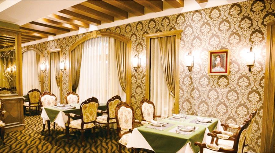 「義薩芭蒂」義式料理用餐空間。圖/周榮發
