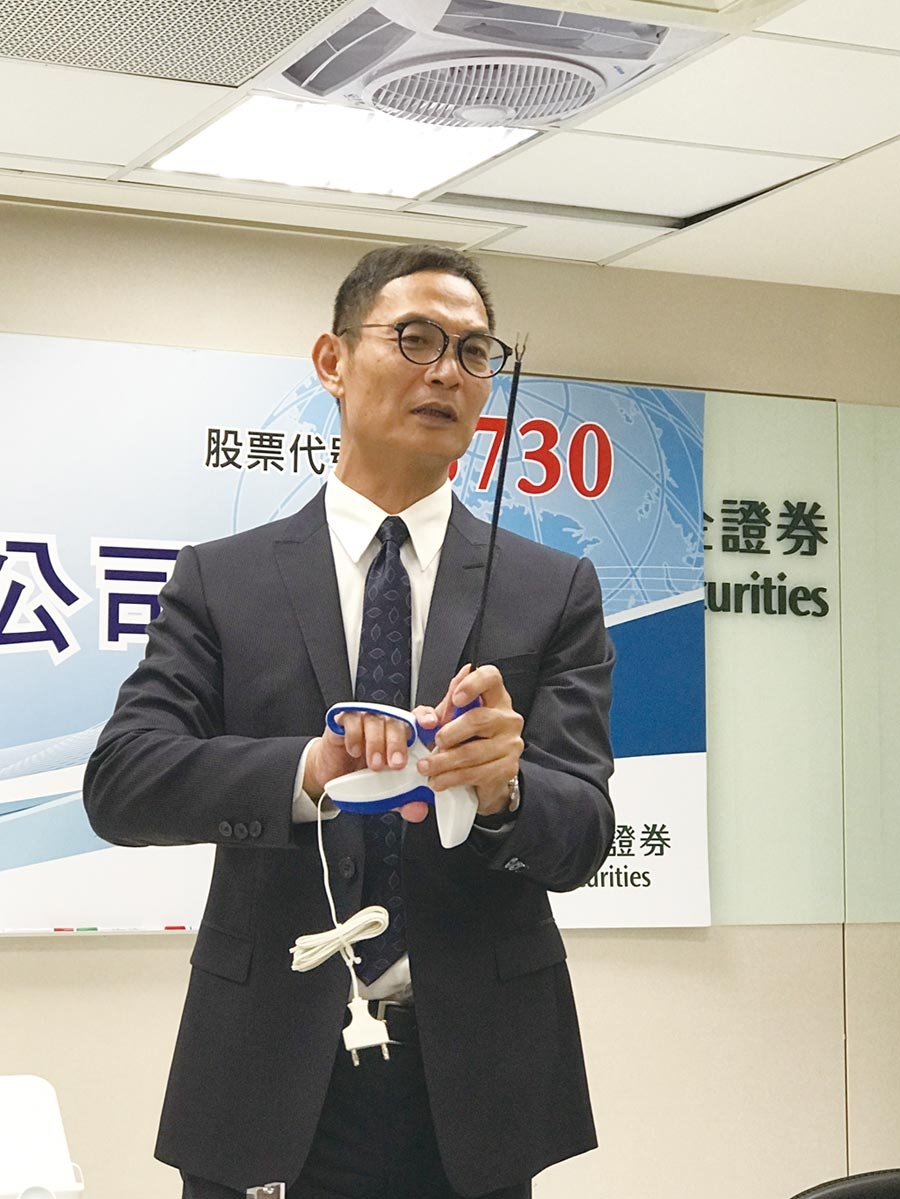 常廣董事長陳政宏看好微創手術將是未來趨勢。圖/杜蕙蓉