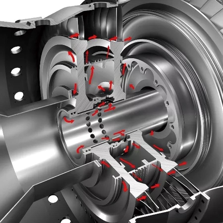 山特維克可樂滿專精航空航太渦輪盤高效、高品質加工解決方案。圖/山特維克可樂滿提供