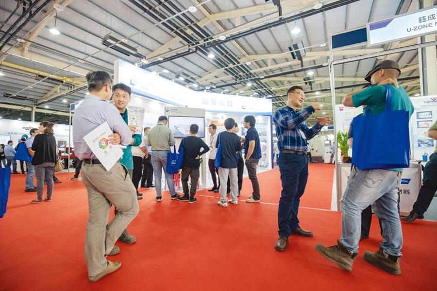 iMT展2018年展會盛況。圖/業者提供