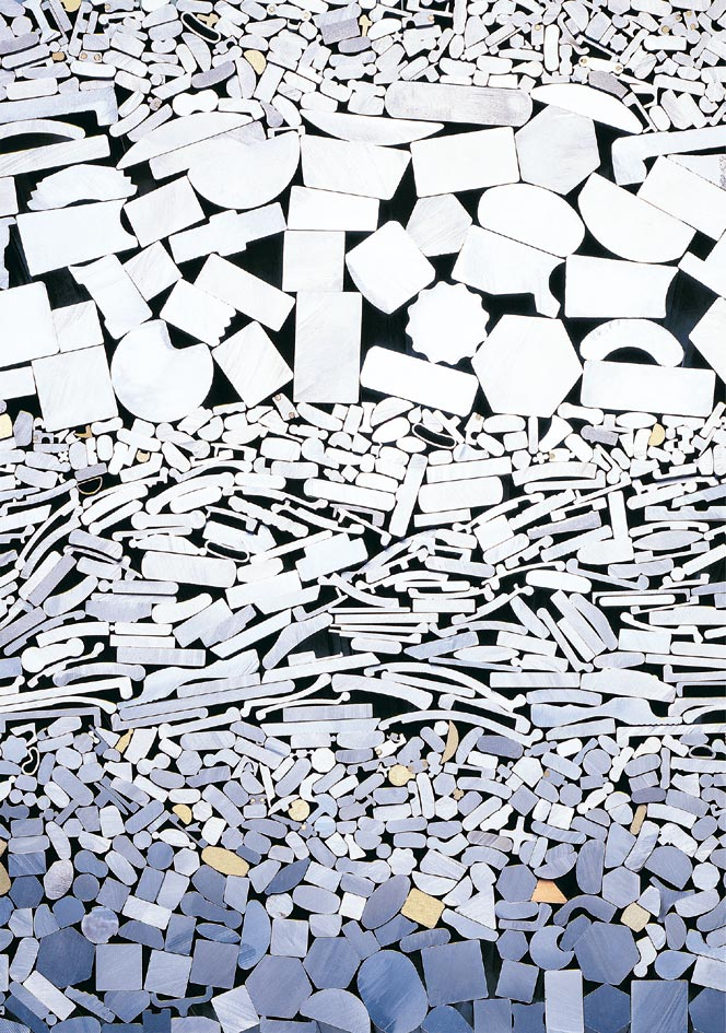 台灣林吉擁有特殊的卡式滾輪模具,來塑造所需的金屬材料,成為客戶所需的各種金屬異形線/棒材。圖/業者提供