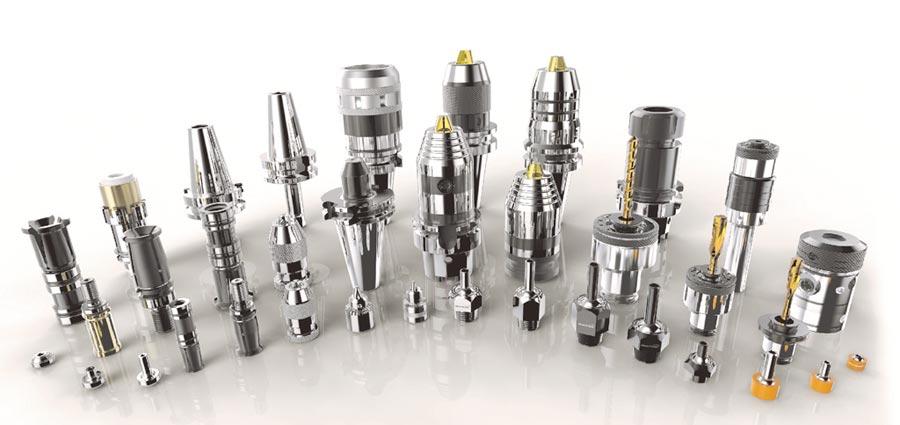 銓寶所研產的CNC工具機精密配件成功行銷全球市場。圖/業者提供