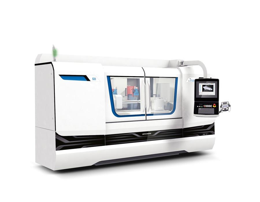 Studer新款S33 CNC萬能內外圓磨床,具備通用靈活特色,能滿足客戶個性化需求。圖/業者提供