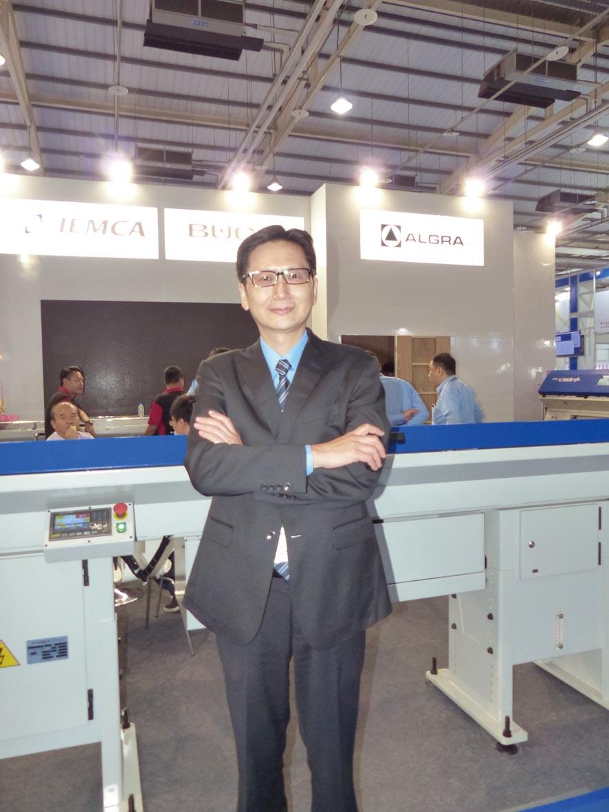 中義公司總經理李盈慶。圖/莊富安
