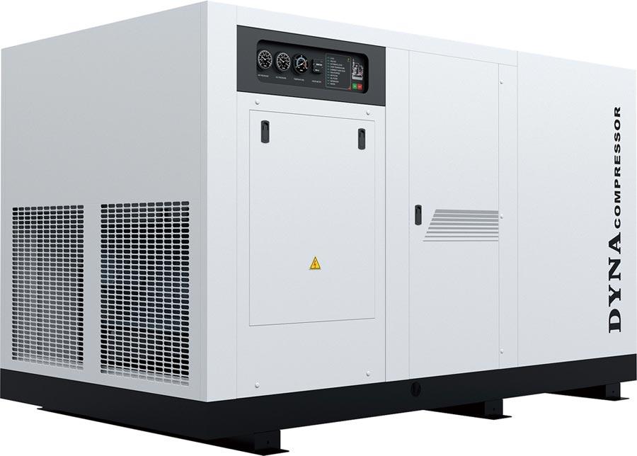 DYNA空壓機B300-150HP,廣受市場好評。圖/業者提供