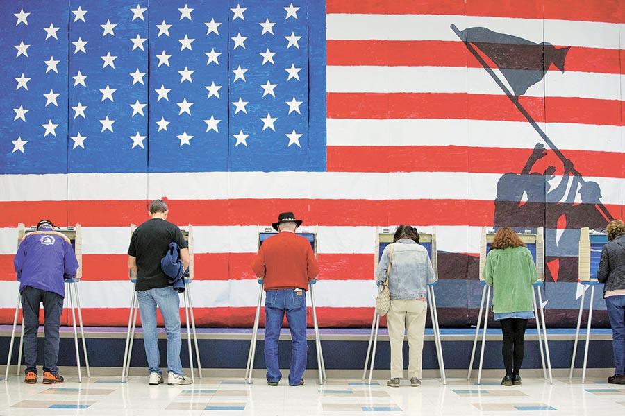 美國維吉尼亞改選州議會,民主黨從共和黨手中拿下參眾兩院多數席次。(路透)