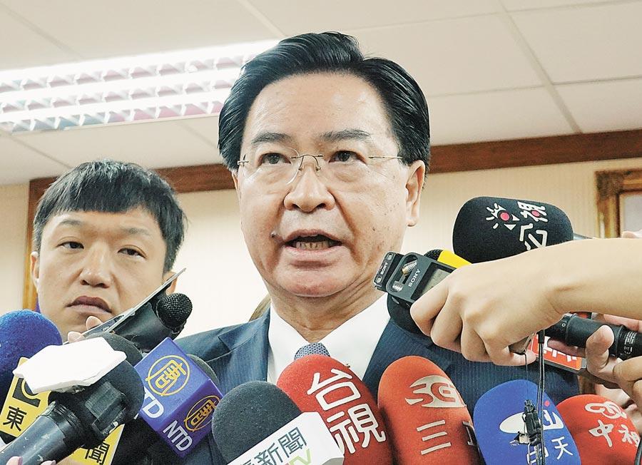 外交部長吳釗燮昨表示,我方雖然未和美方談到「藍點網路計劃」細節問題,但實際上和OPIC合作已久,已有原則共識,正在討論更多的個案合作。(姚志平攝)