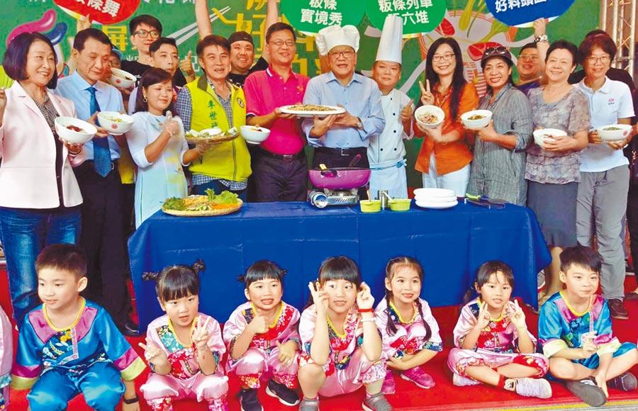 「2019屏東粄條文化節」將於11月9、16日登場,歡迎大家一起來品嘗客家面帕粄、閩南粿仔、新住民河粉。(潘建志攝)