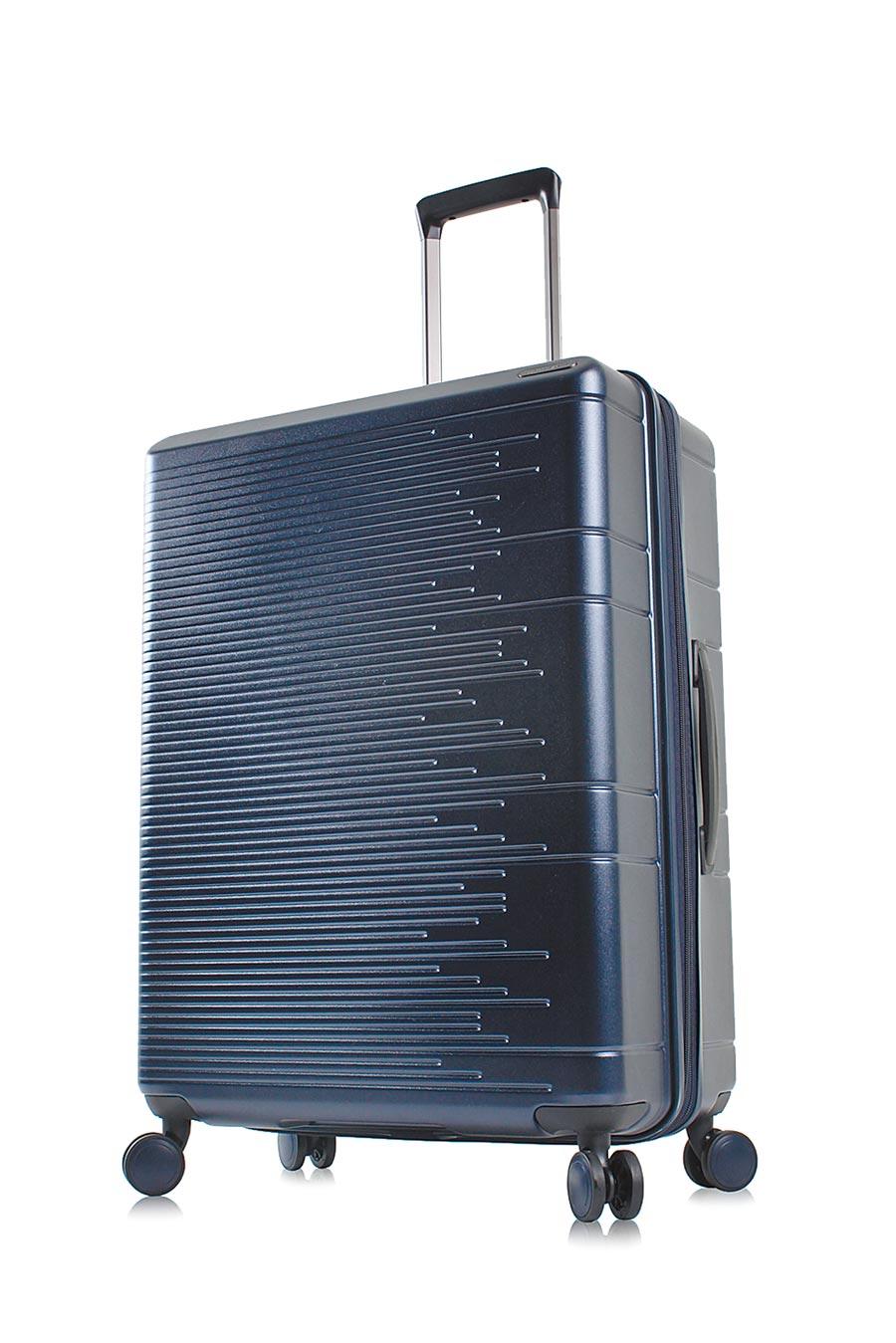 MONTAGUT輕量防爆拉鍊霧面行李箱24吋6680元,周年慶獨家特價3690元。(MONTAGUT提供)