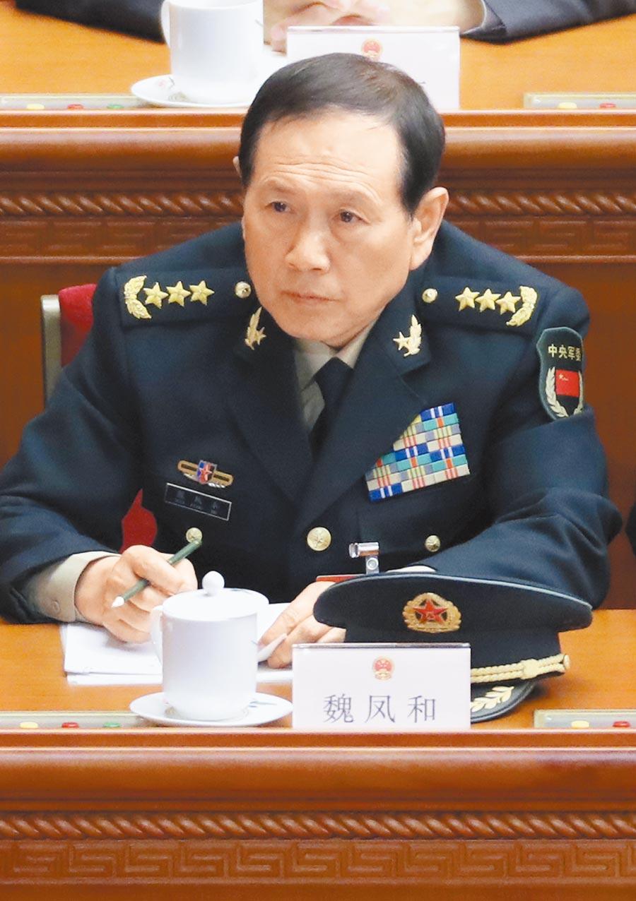 大陸國防部長魏鳳和。(中新社資料照片)